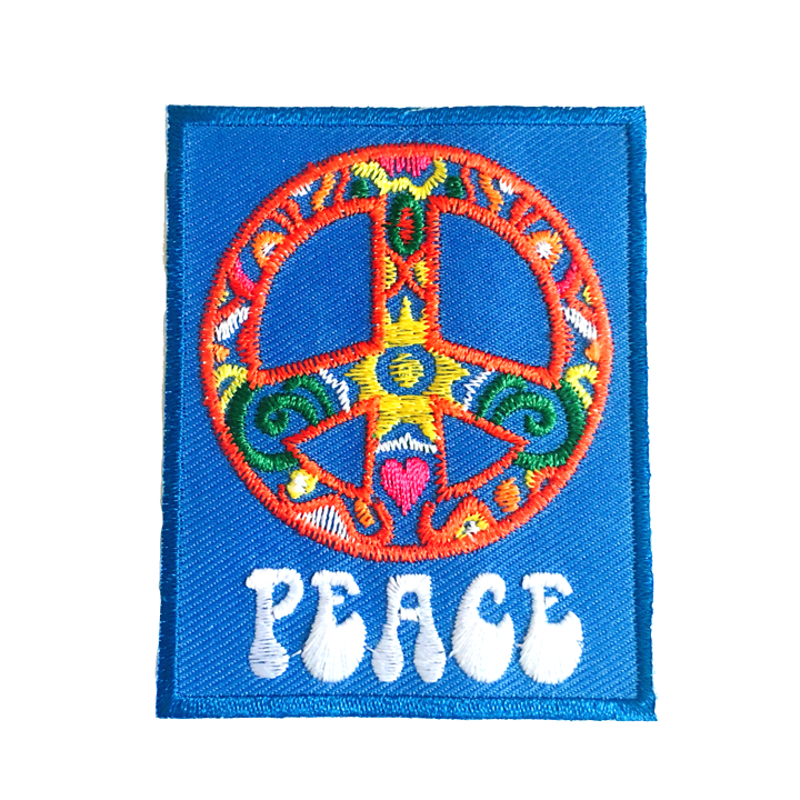 Peace Symbol With Type Aliced